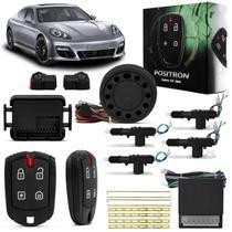 Kit Alarme para Carro Pósitron Cyber EX360 Universal + Trava Elétrica 4 Portas Dupla Serventia - Positron