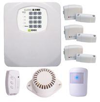 Kit Alarme Residencial Comercial Sem Fio Instala Fácil Ipec -