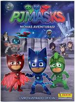 Kit Album Brochura PJ Masks PANINI Oficial + 300 Figurinhas -