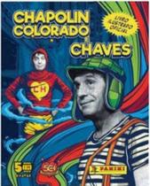 Kit - Album Chapolin Colorado e Chaves + 12 Evelopes - Panini