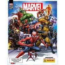 Kit Álbum de Figurinhas e 6 Envelopes Marvel 80 Anos- Panini -