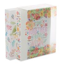 Kit álbum de fotos 500 fotos 10x15 Flores com Caixa - Ical
