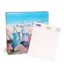 Kit Álbum Mega Ferr 500 fotos Ical Capitais + Refil -