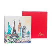 Kit Álbum Mega Vermelho e Monumentos 500 Fotos 10x15 - Ical