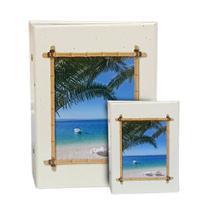 Kit Álbum Viagem Rebites Praia 500 Fotos+ Brinde - Ical