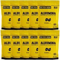 Kit Albumina - 500g Refil Morango - Naturovos -