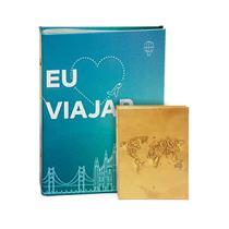 Kit Álbuns Viagem 500 fotos Amo Viajar+ Brinde - Ical