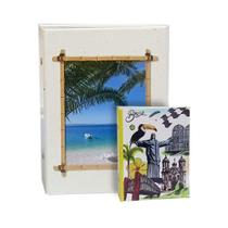 Kit Álbuns Viagem 500 Fotos Praia + Brinde - Ical