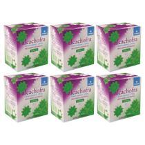 kit Alcachofra 200mg 6x100cp vitamed - vários benefícios -