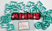 Kit alfabeto mickey - Glem3d