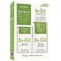 Kit Alfaparf Alta Moda Shampoo Detox 7 Ervas e Condicionador Detox 7 Ervas -
