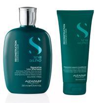 Kit Alfaparf Semi Di Lino Reconstruction Shampoo Leave In -