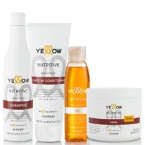Kit Alfaparf Yellow Nutritive Tratamento Diário Completo -