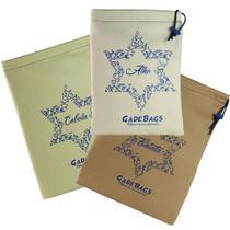 KIT algodão 03 peças de sacos para alimentos - Gadebags
