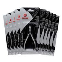 Kit Alicate Mundial 722 Para Cuticula Inox 12 Unidades -
