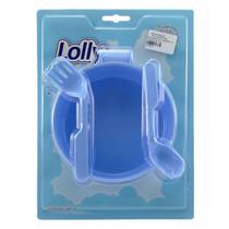 Kit Alimentação 3 peças Azul - Lolly -
