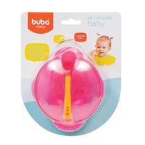 Kit Alimentação Baby Rosa - Buba -