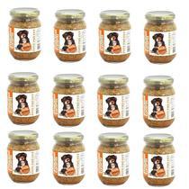Kit Alimento 100% Natural Úmido Sem Conservantes Cães Cachorro 12 Pote Pró Pet 230g Galinhada ração - Pote Pro Pet