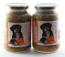 Kit alimento natural úmido cães 2 Pote Pró Pet 535g ração - Pote Pro Pet