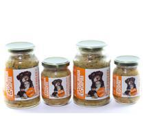 Kit alimento natural úmido cão 4 Pote Pró Pet galinha ração - Pote Pro Pet