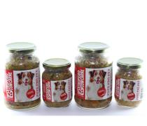 Kit alimento natural úmido cão 8 Pote Pró Pet carne ração - Pote Pro Pet