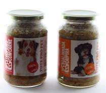 Kit alimento úmido cão 2 Pote Pró Pet 535g ração 2 sabores - Pote Pro Pet