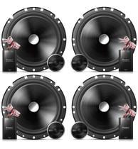 Kit Alto-falante 2 Vias Pioneer 6x6'' Ts-c170 Idea 240w Rms Mais potencia e qualidade As melhores -