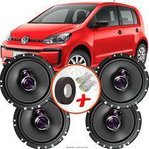 "Kit Alto Falante Pioneer VW Tiguan Ts-1760br 6x6"" 200W RMS 4 Ohms Triaxial Bobina Simples -"