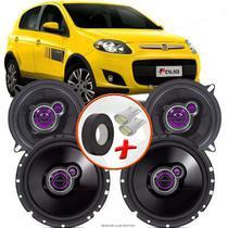 "Kit Alto Falante Pionner Fiat Palio Sporting  Ts-1360br + TS-1760BR 5X6"" 200W RMS 4 Ohms Triaxial Bobina Simples - Pioneer"