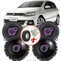 "Kit Alto Falante Pionner Volkswagen Gol G7 Ts-1360br + TS-1760BR 5X6"" 200W RMS 4 Ohms Triaxial Bobina Simples - Pioneer"