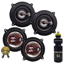 "Kit Alto-falante Universal  5"" Bravox Tr55u +B3x50x  200WRms + PRESENTE -"