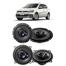 Kit Alto Falantes de Porta Pioneer Gol G5 Novo Volkswagen -