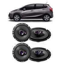 Kit Alto Falantes de Porta Pioneer NEW Honda FIT
