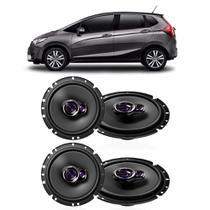 Kit Alto Falantes de Porta Pioneer New Honda Fit -