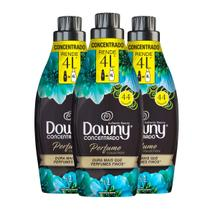 Kit Amaciante Downy 4X Concentrado Authentic Beauty  c/3 unidades