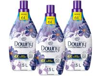 Kit Amaciante Downy 4X Concentrado Lírios do Campo - 1,5L 3 Unidades