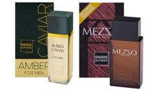 Kit Ambar Caviar E Mezzo Paris Elysees 100ml Original Lacrad