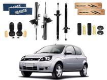 Kit amortecedor dianteiro traseiro nakata ford ka 1.0 1.6 2007 a 2011 -