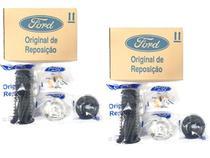 Kit Amortecedor New Fiesta 2010 a 2019 Novo Ka Ka+ 2014 a 2021 Dianteiro Original Ford BH5A3K029CA -