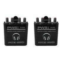 KIT Amplificador de Fone de Ouvido PH-2000 2W 2 Canais PWS (2 UND) -