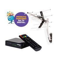 Kit Antena De TV Digital AE 5010 + 1 Conversor Digital CD 730 Intelbras -