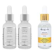 Kit Anti Manchas + Anti Rugas 2 Serum Lifting + 1 Vitamina C Max Love  Premium - Maxlove