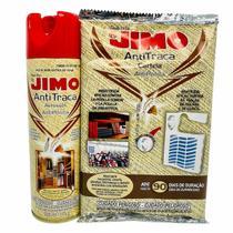 Kit Anti Traça Aerosol Jimo 300ml + Jimo Cartela Anti Traça -