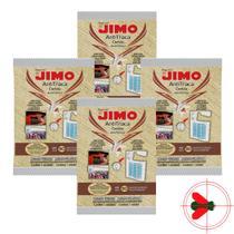 Kit Anti Traça Cartela Jimo Contém 4 Unidades -