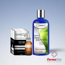 Kit Antiqueda - Sanctio 20ml + Shampoo Saw Palmetto 200ml - Site