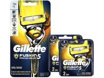 Kit Aparelho de Barbear Gillette Fusion - Proshield 2 Peças + 2 Lâminas de Barbear
