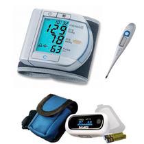 Kit Aparelho De Pressão Digital Oximetro E Termometro - Microlife