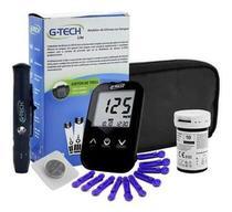 Kit Aparelho Medidor De Glicose Glicemia G-tech Lite -