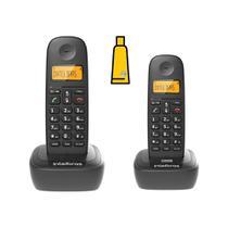 Kit Aparelho Telefone Fixo Sem Fio Digital e Ramal Intelbras -
