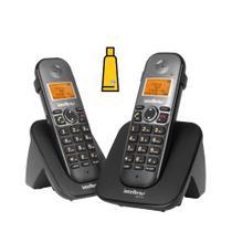 Kit Aparelho Telefone Sem Fio ramal adicional TS 5122 Bina - Intelbras